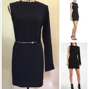 NWT Helmut Lang Black Dress - Harness Dress Size 4